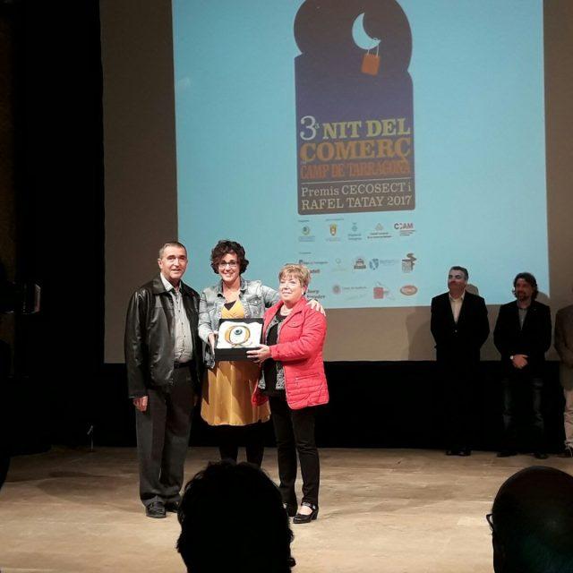 La Nit del Comerç del Camp de Tarragona premia la Polleria Antònia pels seus 50 anys d'activitat