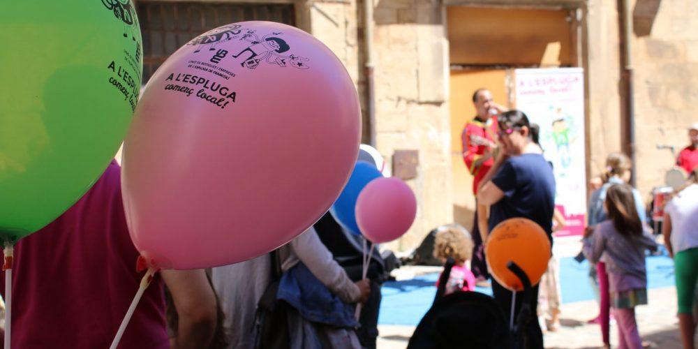 El comerç local de l'Espluga es reivindica amb un acte festiu
