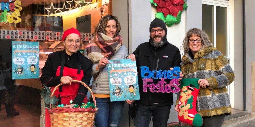 La Unió de Botiguers i Empreses de l'Espluga impulsa una campanya de Nadal amb més de 800 regals