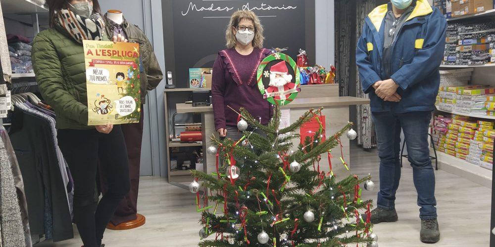La Unió de Botiguers i Empreses de l'Espluga inicia la campanya de Nadal amb 700 regals per repartir