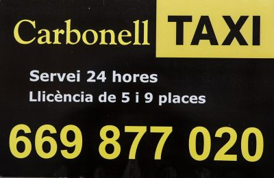 TAXI CARBONELL