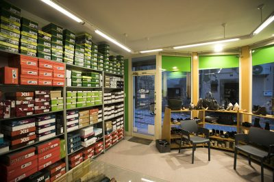 Interior de la botiga