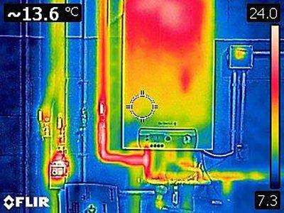 Estudis en càmara tèrmica
